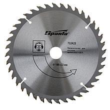 Пильный диск по дереву 180 *22мм,40 зубьев//Sparta 732425(732425)