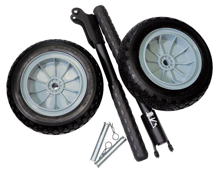 Комплект колеса+ручки для генератора Fubag