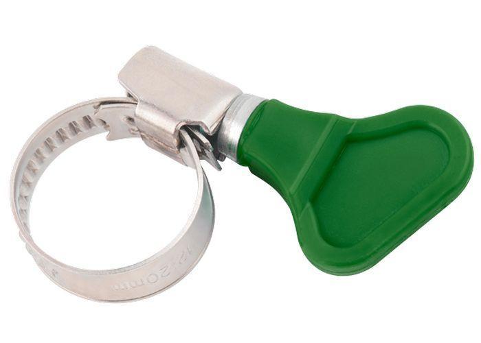 Хомут 30 х45мм метал.элемент крепления с формой ключ ШУРУПЬ 45610