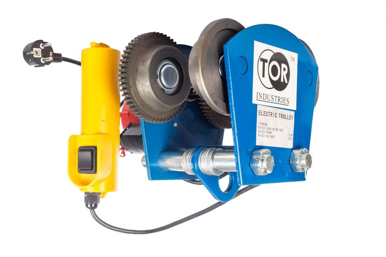 Тележка электрическая TOR UNION тип HD 1т арт.11110