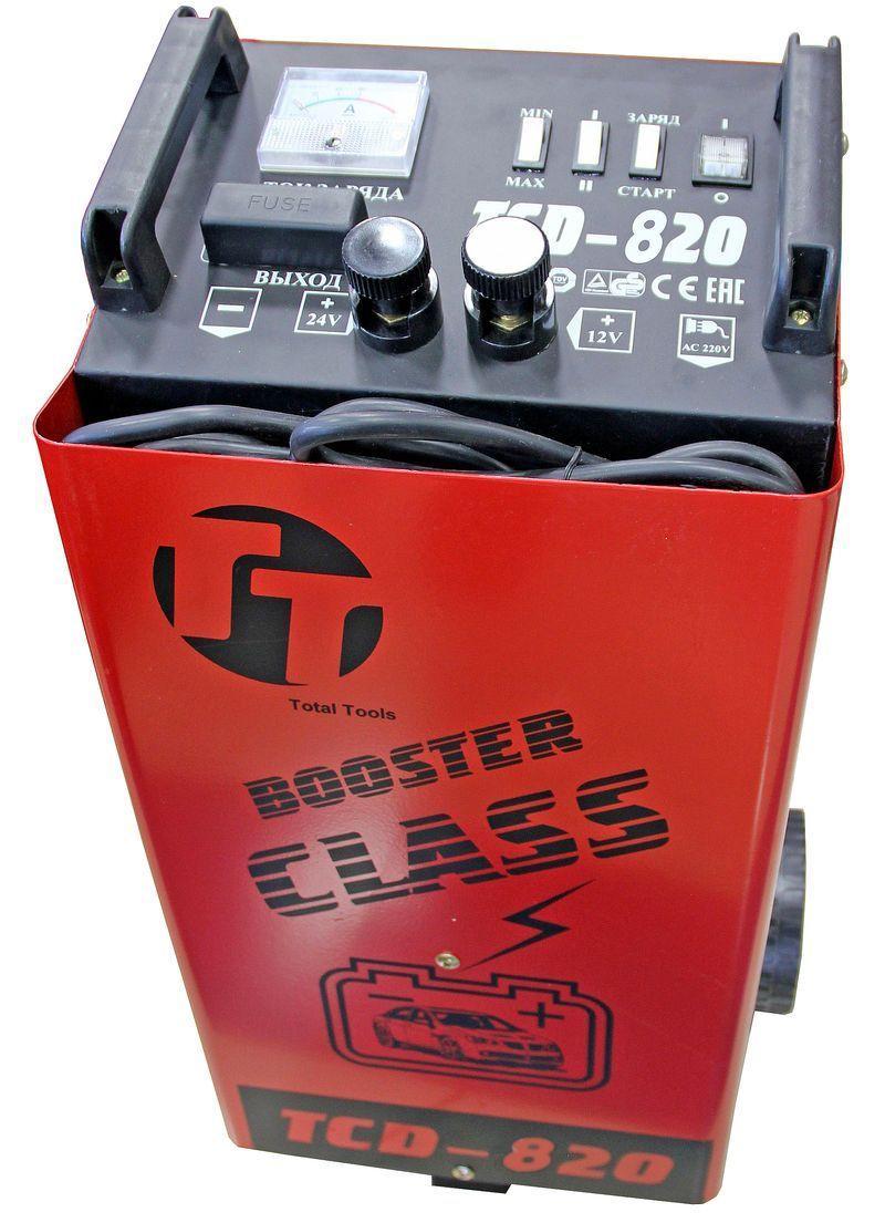 Пуско-зарядное устройство TOTAL TOOLS TCD-820