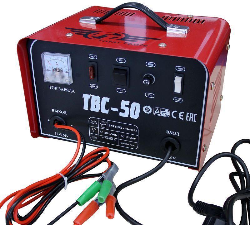 Зарядное устройство Total TBC-50