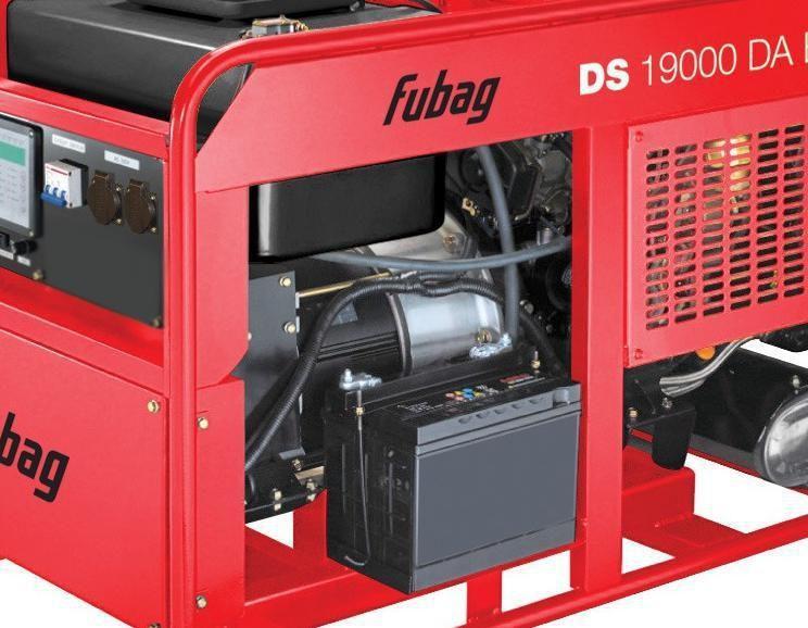 Генератор дизельный Fubag DS 19000 DA ES