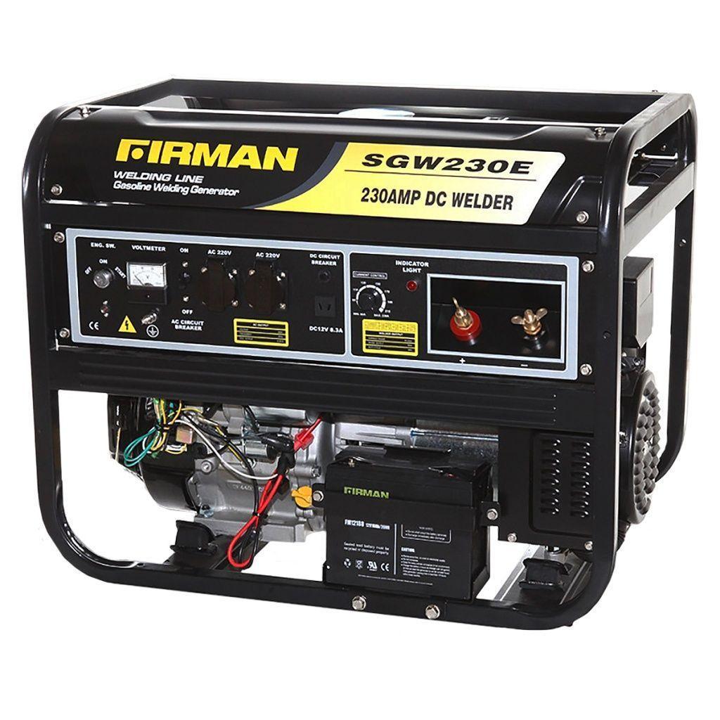 Генератор сварочный бензиновый FIRMAN SGW230E