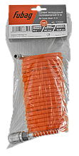 Шланг спиральный с фитингами Fubag  рапид химически стойкий полиамидный 20 бар 6х8мм 5м арт.170200