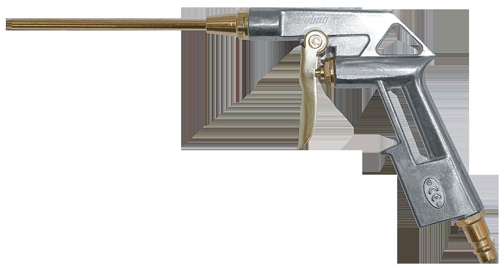 Пистолет продувочный удлиненный (170л.мин. 4 бар),пневматический Fubag 110122