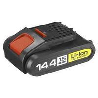 Батарея аккумуляторная 'ЗУБР' АКБ-14.4-Ли 15М1, Li-Ion, 1.5Ач, 14.4В, тип М1