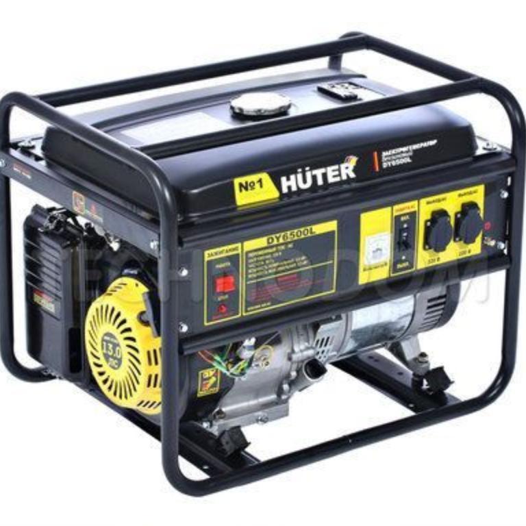 Генератор бензиновый Huter DY 6500L
