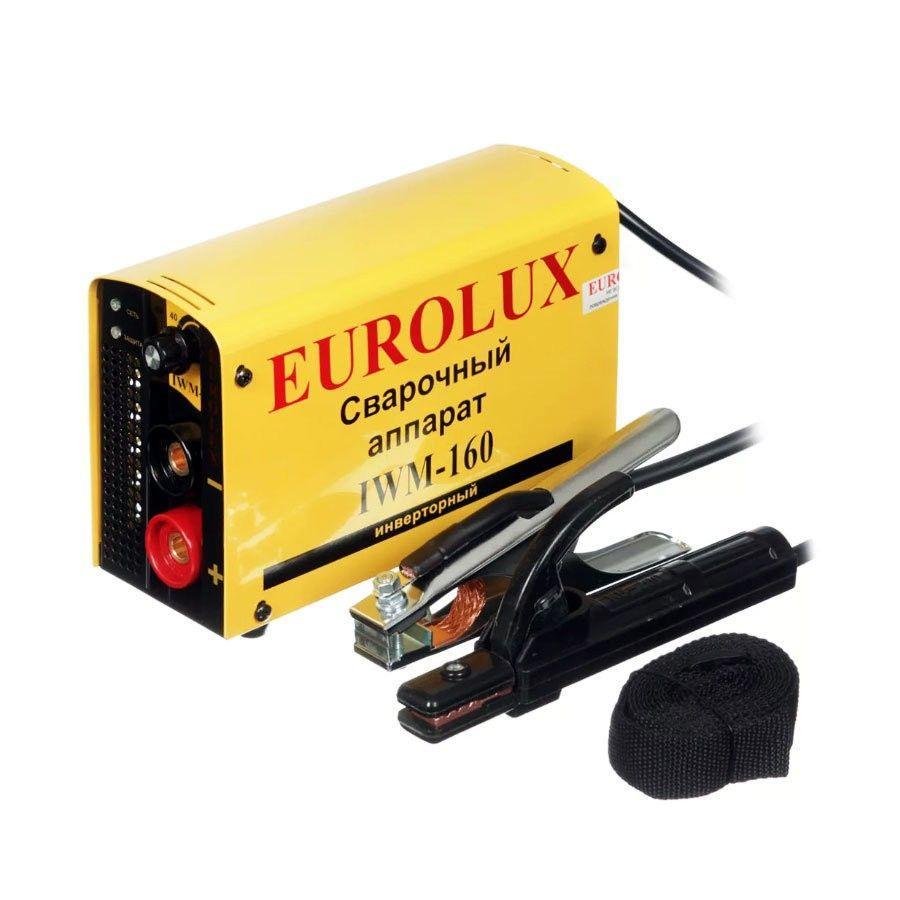 Инвертор сварочный Eurolux IWM 160