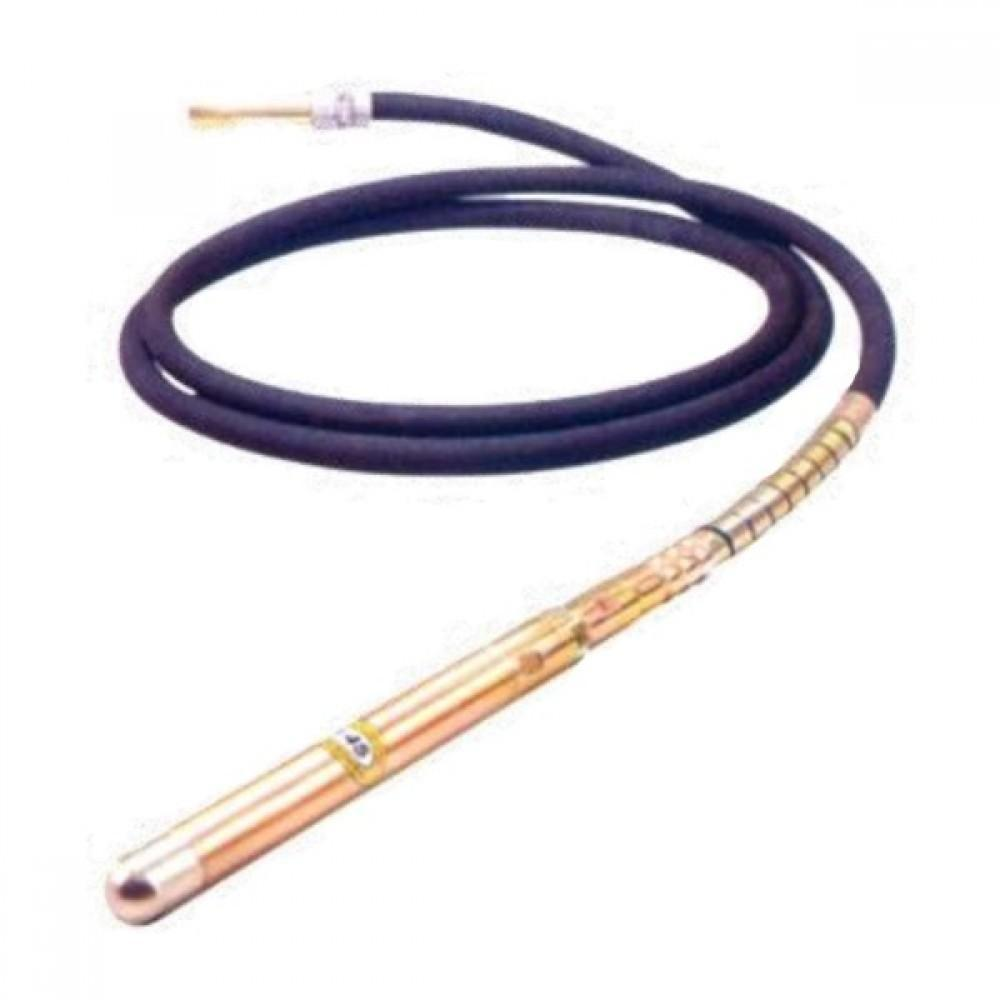 Вал гибкий с вибронаконечником CHAMPION (L6m D45mm M тип) для CVG424,ECV2200, CHAMPION, C1700