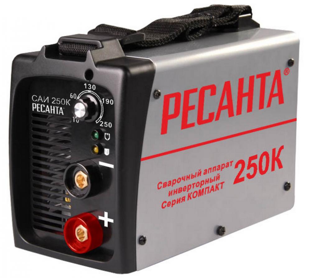 Инвертор сварочный Ресанта САИ 250К
