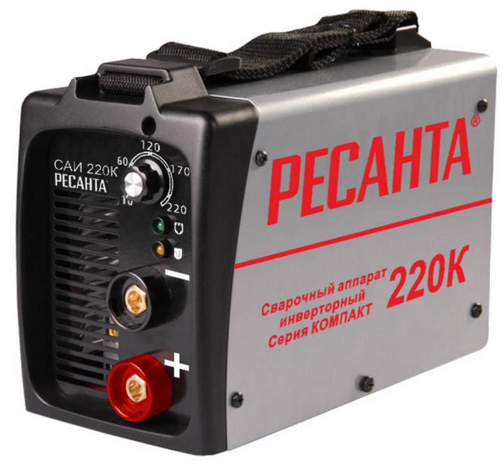 Инвертор сварочный Ресанта САИ 220К