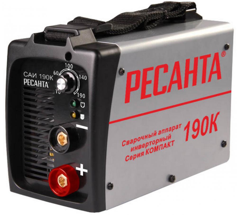 Инвертор сварочный Ресанта САИ 190К