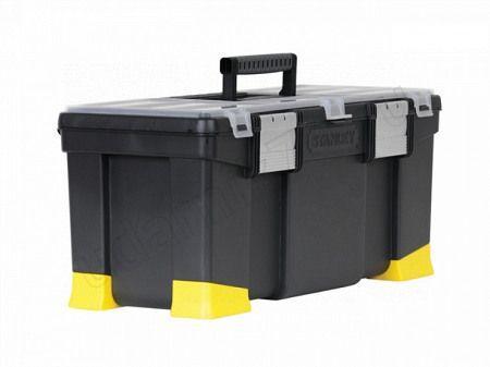 Ящик инструментальный пласт.с органайзерами,лотком и аллюм.замками STANLEY 1-97-512