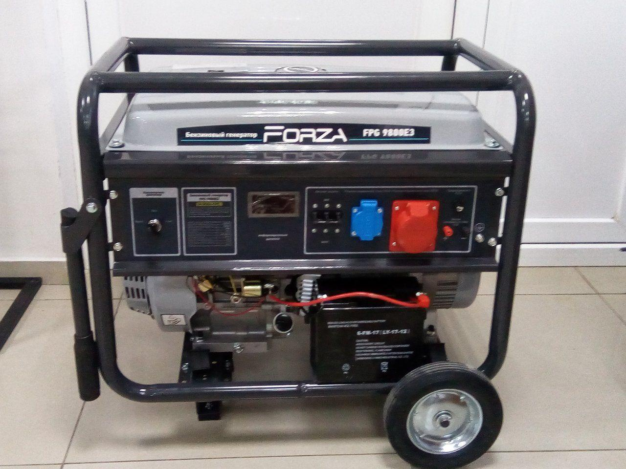Генератор бензиновый FORZA FPG9800E