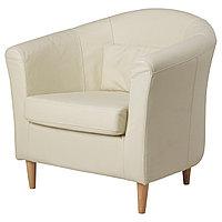 Кресло ТУЛЬСТА Глосе/Бумстад бежевый ИКЕА, IKEA