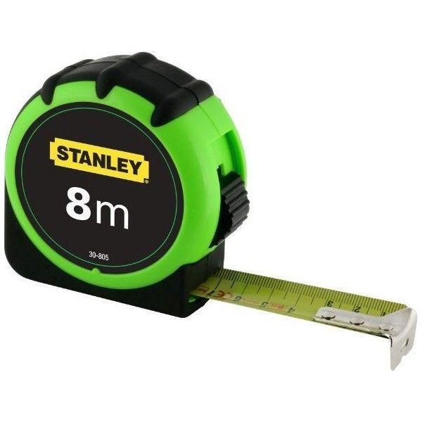 """Рулетка 8 х25мм """"HIGH VISIBILITYU""""STANLEY арт.0-30-805"""