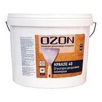 Штукатурка декоративная OZON 'Кракле 40' акриловая 8 кг