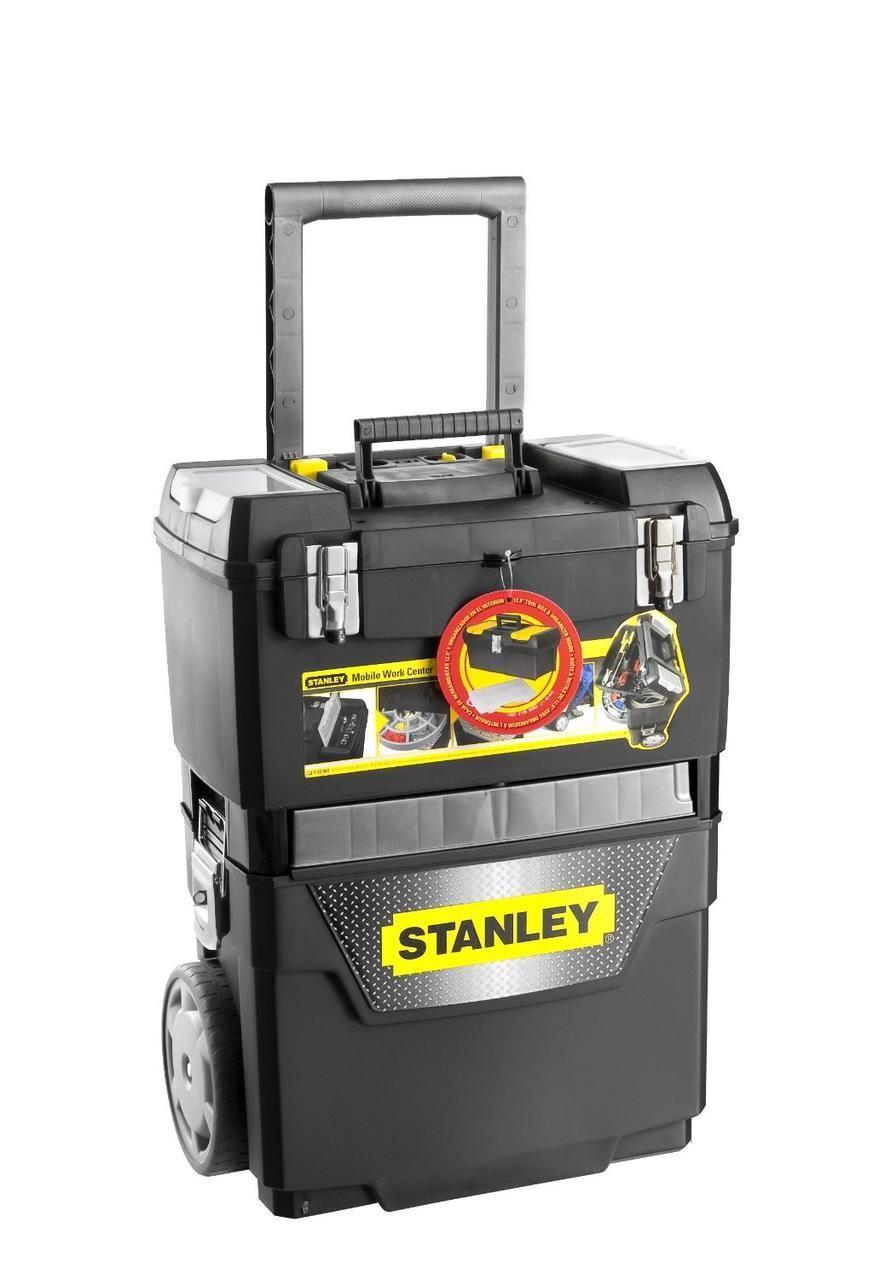 Бонус-комплект:3и пласт.ящика с орган.для инстр.STANLEY 1-95-649