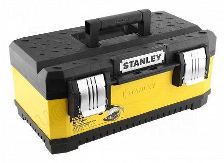 Ящик для инструм.металлопластмасовый желтый STANLEY 1-95-612