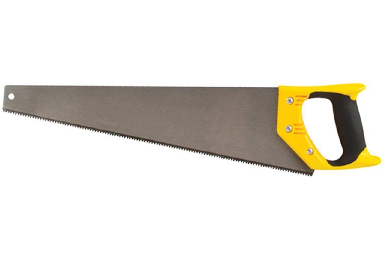 Ножовка по дереву 450мм сред. зуб,пласт.рукоятка Курс арт.40317