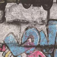 Обои горячее тиснение на флизелине АВАНГАРД 45-221-02 Graffiti, 1,06x10 м (комплект из 6 шт.)