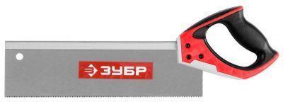 """Ножовка Зубр """"Мастер"""" для стусла,обушковая,закал.прямой зуб 15155-35"""