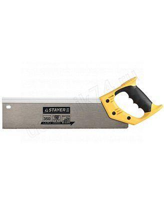 "Ножовка Stayer""Master"" для стусла,обушковая,закал.прямой зуб 350мм15365-35"
