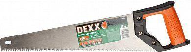 Ножовка по дереву DEXX  400мм пласт.рукоятка 1502-40