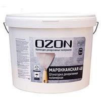 Штукатурка декоративная OZON 'Марокканская 40' акриловая 8 кг