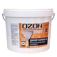 Штукатурка декоративная OZON 'Дикий камень 40' акриловая 8 кг