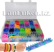 Набор для плетения Loom Bands (22 цвета) цвета в ассортименте