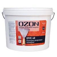 Штукатурка декоративная OZON 'Опус 40' акриловая 8 кг