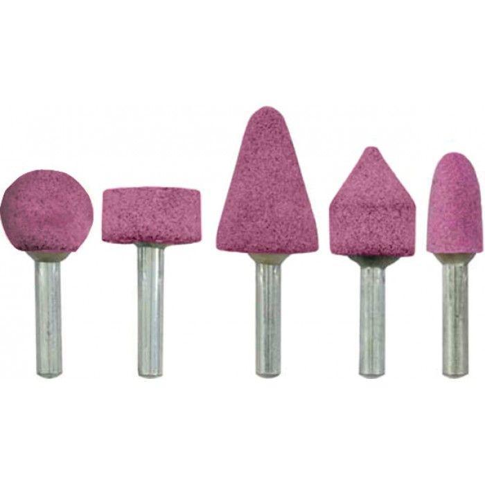 Шарошки абразивные для фигурных отверстий 5шт.(малые) FIT арт.36468