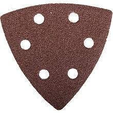 Шлифовальный треугольник 93 х93 х93мм.Р-80 Зубр 35583-080