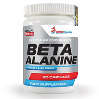 Beta Alanine, 90 капсул по 500 мг, West Pharm