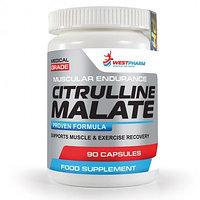 Citrulline Malate / Цитруллина малат, 90 капс по 500 мг, West Pharm.