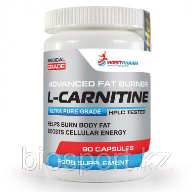 L Carnitine, 90 капсул по 500 мг, West Pharm.