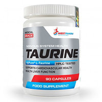 Taurine, 90 капcул по 500 мг, West Pharm.