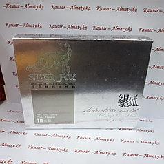 Женский возбудитель Silver Fox ( Серебряная лиса ) 12 шт. Возбуждающие капли для женщин
