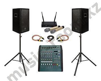 Комплект звуковой аппаратуры 600 Ватт