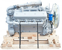 Двигатель (индивидуальной сборки) на блоке НОВОГО ОБРАЗЦА без КПП и сцепления вал до 1 рем. ЯМЗ 240БМ2-1000190