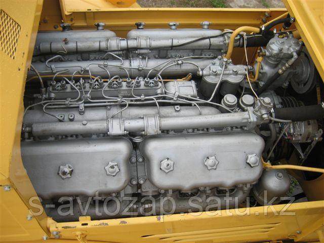 Двигатель (индивидуальной сборки) на блоке нового образца Без кпп и сцепления вал номинал ЯМЗ-240М2-1000186