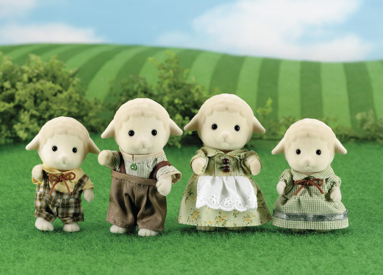 Sylvanian Families Набор Семья овечек