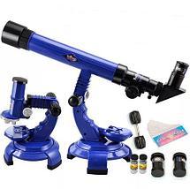 Набор для научных исследований [Телескоп + Микроскоп] 2-в-1 «Мир как на ладони» от Эврики, фото 2