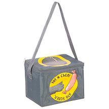 Сумка-термос компактная на ремне с принтом «KOMANDOR» [5 л.] (Зверский аппетит), фото 3