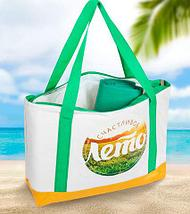 Сумка-термос пляжная с подстилкой-циновкой «KOMANDOR», фото 2