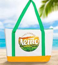 Сумка-термос пляжная с подстилкой-циновкой «KOMANDOR», фото 3
