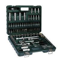 Набор инструментов в кейсе TUNDRA, автомобильный, CrV, 72 зуба, 1/2' и 1/4', 94 предмета