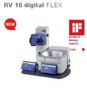Ротационный испаритель IKA RV10 digital FLEX без набора стекла